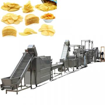 Hot Sale Potato Chips Crisps Making Machine/Frozen French Fries Frying Making Machine