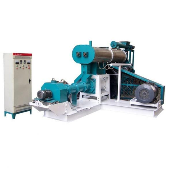 2016 Hot Sale Fish Farming Usage Automatic Pellet Fish Feed Extruder #1 image