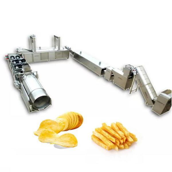 industrial full automatic frozen fries fried potato chips making machinery production line maker #2 image