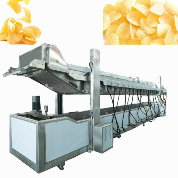 industrial full automatic frozen fries fried potato chips making machinery production line maker #1 image