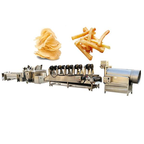 industrial full automatic frozen fries fried potato chips making machinery production line maker #3 image